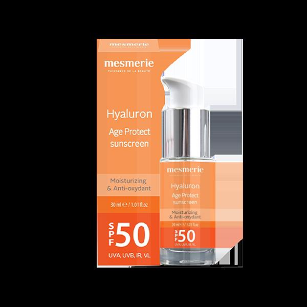 Hyaluron Age Protect SPF 50 krema za zaštitu kože od sunca sa anti-age efektom 30ml