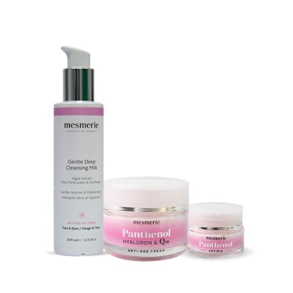 PANTENOL BEAUTY SET za podmlađivanje, čišćenje i detaljnu negu lica
