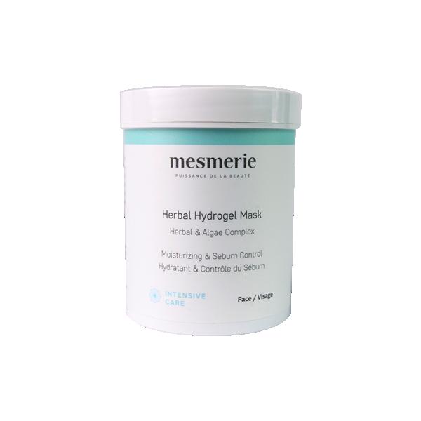 Herbal Hydrogel maska za omekšavanje kože