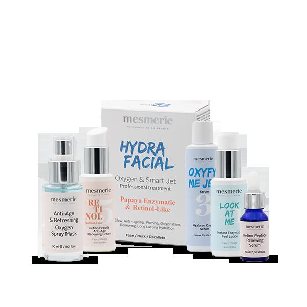 HYDRAFACIAL TRETMAN /oxygen & retinol-like/ za blistav  ten, glatku i  podmlađenu kožu