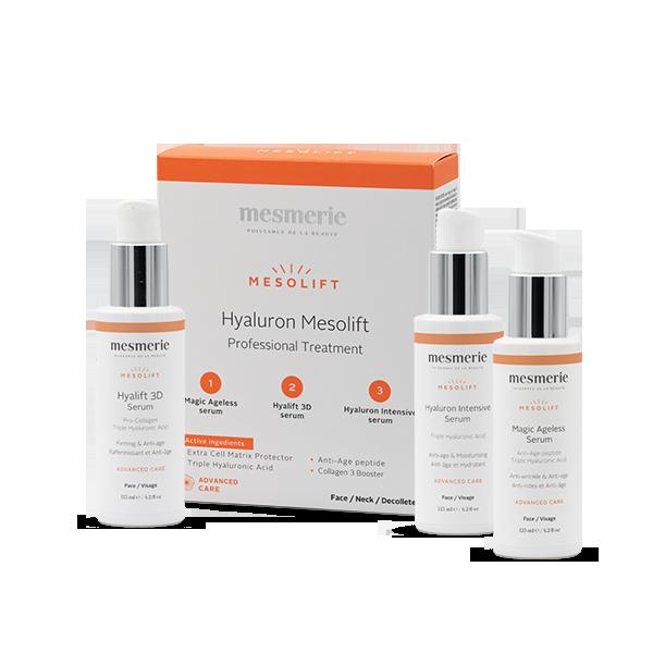HYALURON MESOLIFT set seruma za tretman mezoterapije bez igala